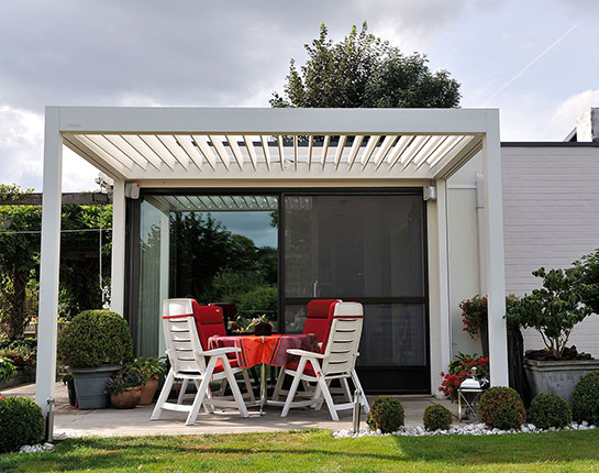B-150 Louvered Roof Pergolas