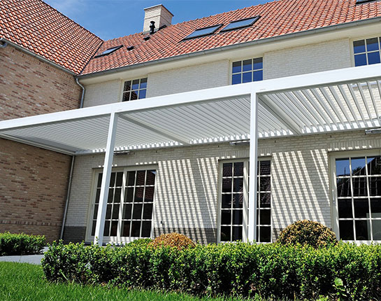 B-150 XL Louvered Roof Pergolas