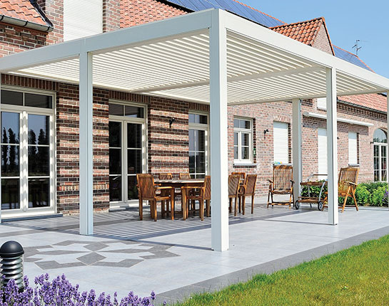B-200 Louvered Roof Pergolas