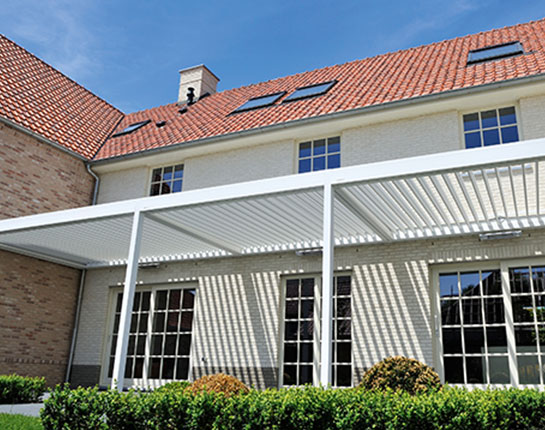 Louvered Roof Pergolas