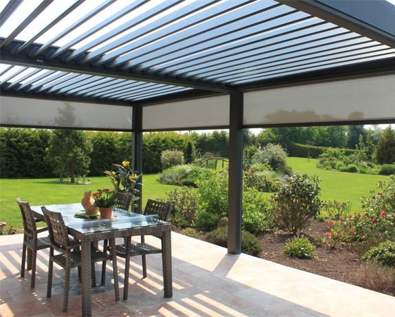 Aluminium Pergolas Louvred Roof Pergolas By Broadview