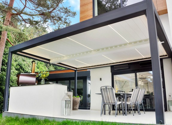 Covered Patio Ideas | Garden & Patio Inspiration on Patio Cover Ideas Uk id=22571
